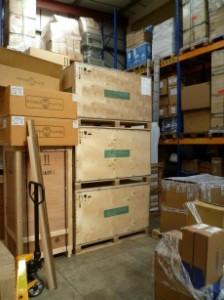 Ocean shipment crates